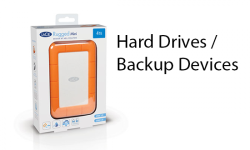 Hard Drives / Backup Devices
